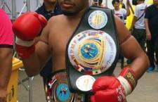 MIDDLE weight: 154 – 160P( 69.853kg – 72.575kg ) <br>รุ่นมิดเดิ้ลเวท น้ำหนักตัวตั้งแต่ 154 ปอนด์ ( 69.853 กก ) และไม่เกิน 160 ปอนด์ ( 72.575 กก )