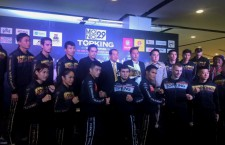 Press conference of MONO TOP KING WORLD SERIES 2015