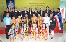 "Press conference of ""King's birthday Muay Thai competition"""