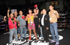 New Thailand national champion @ Lumpinee Stadium