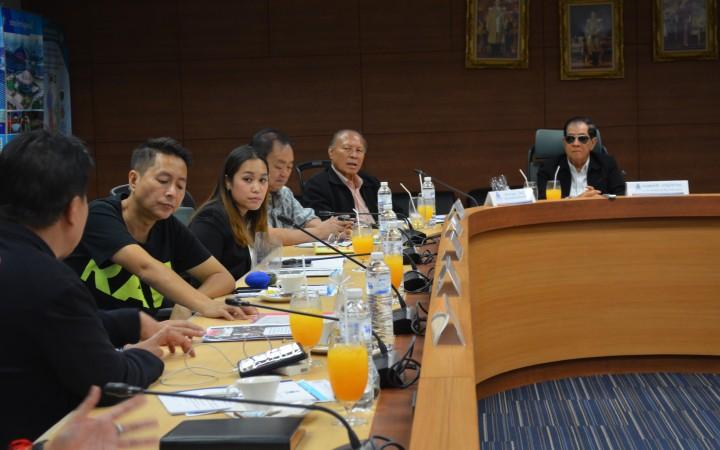 PAT's November meeting Board